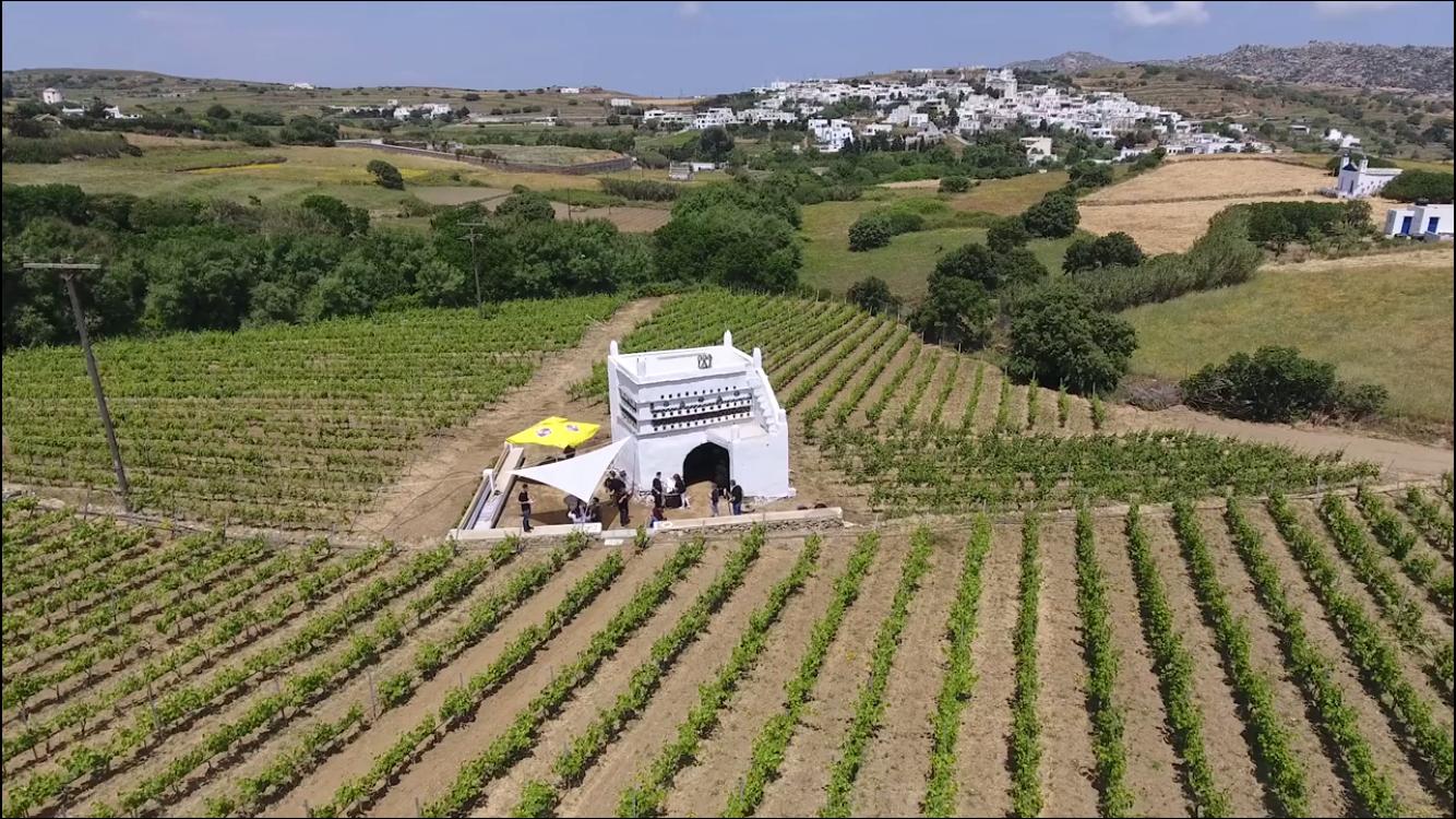 Επίσκεψη του Foodpaths 2018 στο Vaptistis Winery